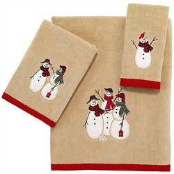Avanti Snowman Gathering Towel Collection