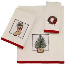 Avanti Farmhouse Holiday Towel Collection