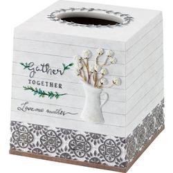 Modern Farmhouse Tissue Box Cover
