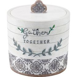 Avanti Modern Farmhouse Covered Bathroom Jar