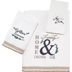 Avanti Modern Farmhouse Towel Collection