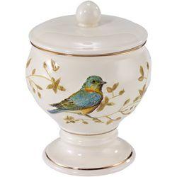 Avanti Gilded Birds Jar