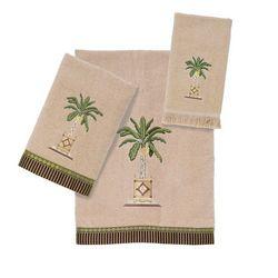 Avanti Banana Palm Towel Collection