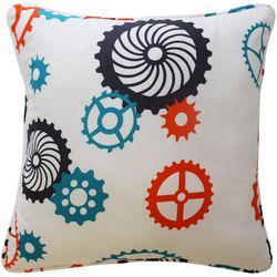 Waverly Kids Robotic Square Decorative Pillow