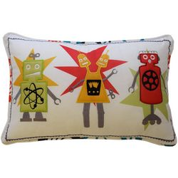 Waverly Kids Robotic Embroidery Decorative Pillow
