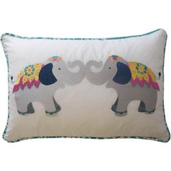 Waverly Kids Bollywood Elephant Decorative Pillow