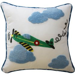 Waverly Kids In The Clouds Airplane Pillow