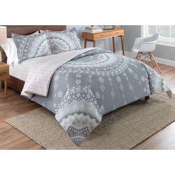 Vue Mira Reversible Micofiber Comforter Set