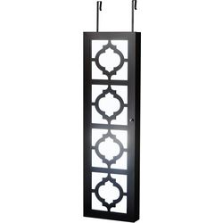 FirsTime Moroccan Design Mirrored Jewelry Armoire