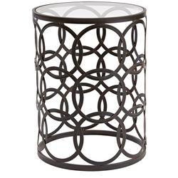 FirsTime Interlocking Circles Side Table