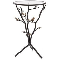FirsTime Bird & Branches Tripod Side Table