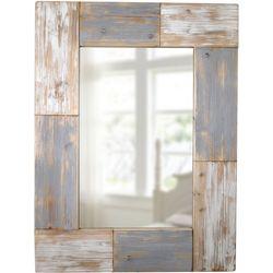 FirsTime Mason Planks Wall Mirror
