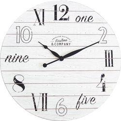 FirsTime 27'' Shiplap Chic Wall Clock