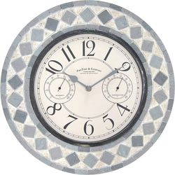FirsTime Patio Pavers Wall Clock