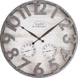 FirsTime Shiplap Outdoor Wall Clock