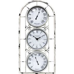 FirsTime Window Station Wall Clock