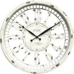 FirsTime 20'' Whitney Wall Clock