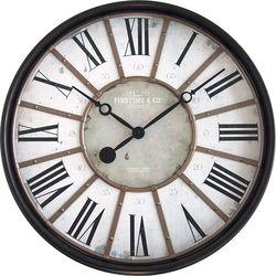 FirsTime 29'' Roman Bronze Wall Clock