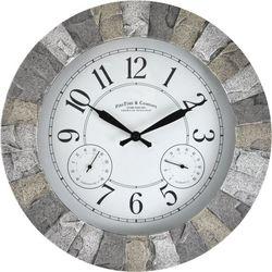 FirsTime Stoneybrook Outdoor Clock