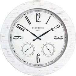 FirsTime Shiplap Planks Outdoor Clock