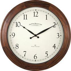 FirsTime Walnut Garrison Wall Clock