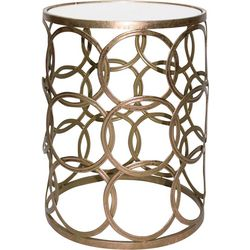 FirsTime Gilded Circles Table