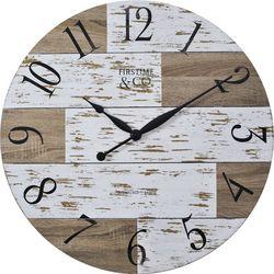 FirsTime 27'' Harper Pallets Wall Clock