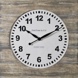 FirsTime 15.5'' Jackson Square Wall Clock