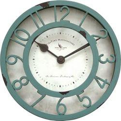 FirsTime 8'' Sage Raised Wall Clock