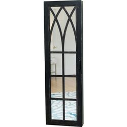 FirsTime Black Arch Jewelry Armoire