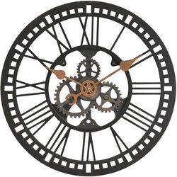 FirsTime 24'' Roman Gear Wall Clock
