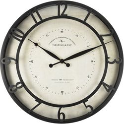 FirsTime 18'' Kensington Whisper Wall Clock