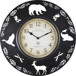 FirsTime 11'' Lodge Collection Wall Clock