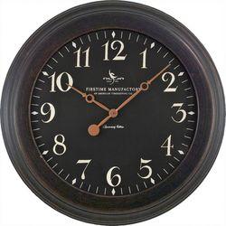 FirsTime 8.5'' Black Onyx Wall Clock