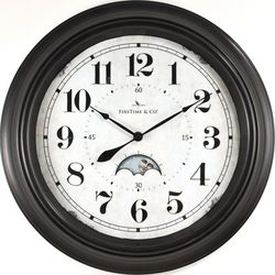 FirsTime 15.5'' Luna Wall Clock