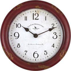 FirsTime 8.5'' Patina Wall Clock