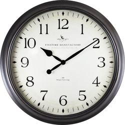 FirsTime 20'' Avery Whisper Wall Clock