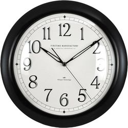 FirsTime 11'' Slim Plastic Wall Clock