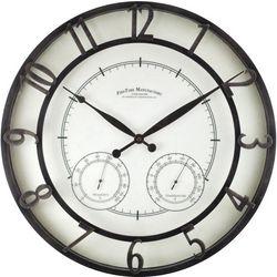 FirsTime 18'' Park Outdoor Wall Clock