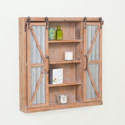FirsTime Westerly Barn Door Cabinet