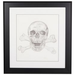 Linnea Szymanski 'Bad To The Bone' Original Drawing