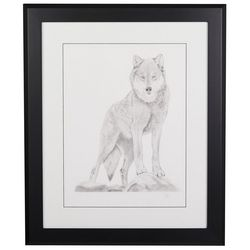 Linnea Szymanski 'Wyatt' Original Drawing Framed Art