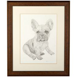 Linnea Szymanski 'Frank' Original Drawing Framed Art