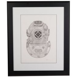 Linnea Szymanski '40 Meters' Original Drawing Framed Art