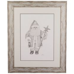 Linnea Szymanski 'Starfish Santa' Original Drawing