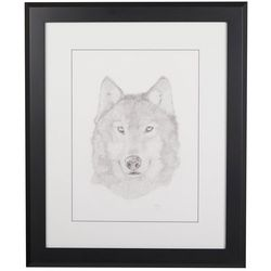 Linnea Szymanski 'Lumi' Original Drawing Framed Art