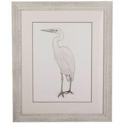 Linnea Szymanski 'Edgar' Original Drawing Framed Art