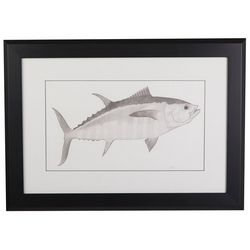 Linnea Szymanski 'Perry The Pompano' Original Drawing