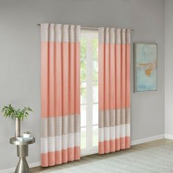 Madison Park Amherst Polyoni Pintuck Window Curtain