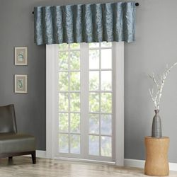 Andora Faux Silk Embroidered Window Valance